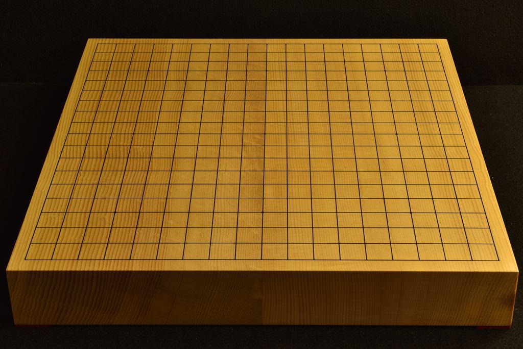 碁盤 新かや20号 柾目卓上  竹印