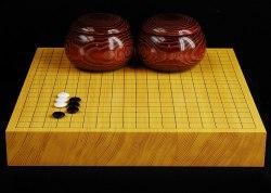 碁盤 新かや20号卓上松印蛤碁石セットA