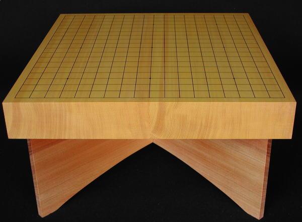 碁盤 新かや20号 卓上 松印 卓上盤台付