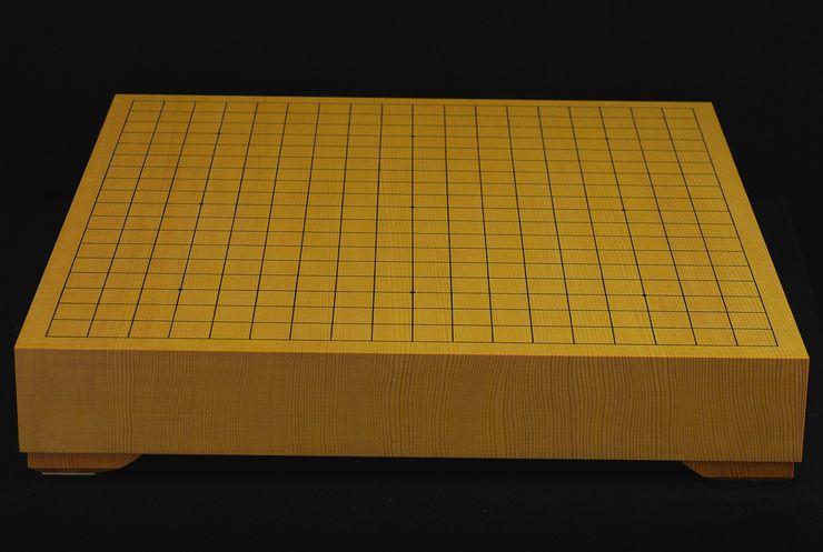 碁盤 新かや20号卓上 特上一枚板 駒脚付