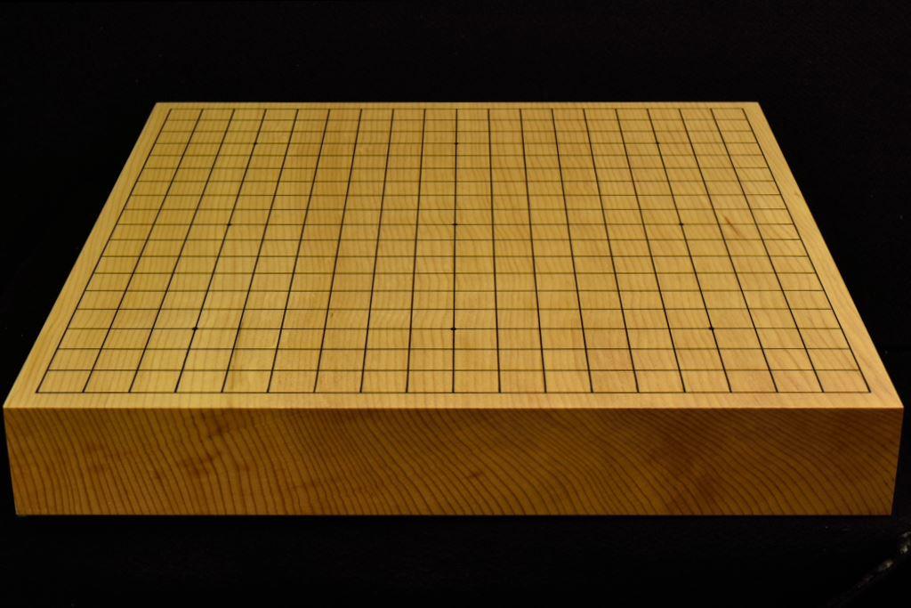 碁盤 新かや20号卓上 一枚板 竹