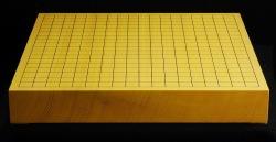碁盤 新かや20号 柾目卓上 一枚板 松