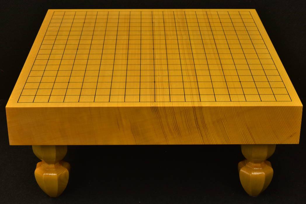 碁盤 新かや20号 柾目一枚板 松印
