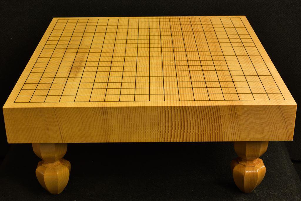 碁盤 新かや20号 柾目一枚板 竹印
