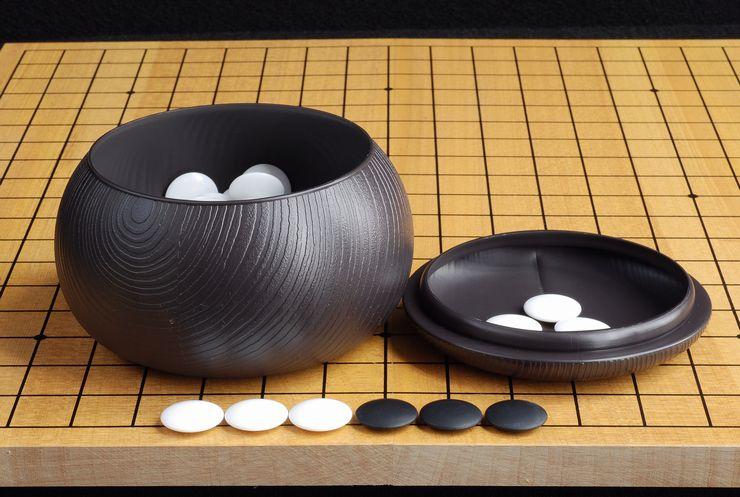 折碁盤プラスチック碁石セット