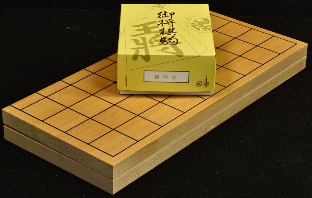折将棋盤6号木製駒セットA