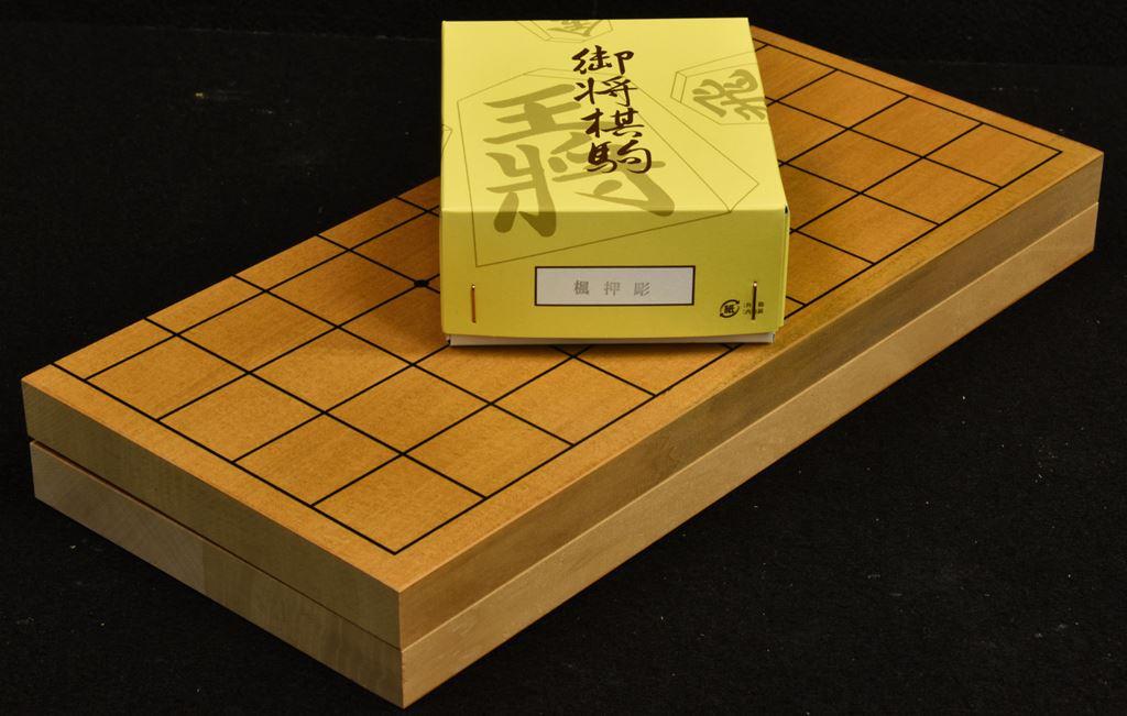 折将棋盤7号木製駒セット A