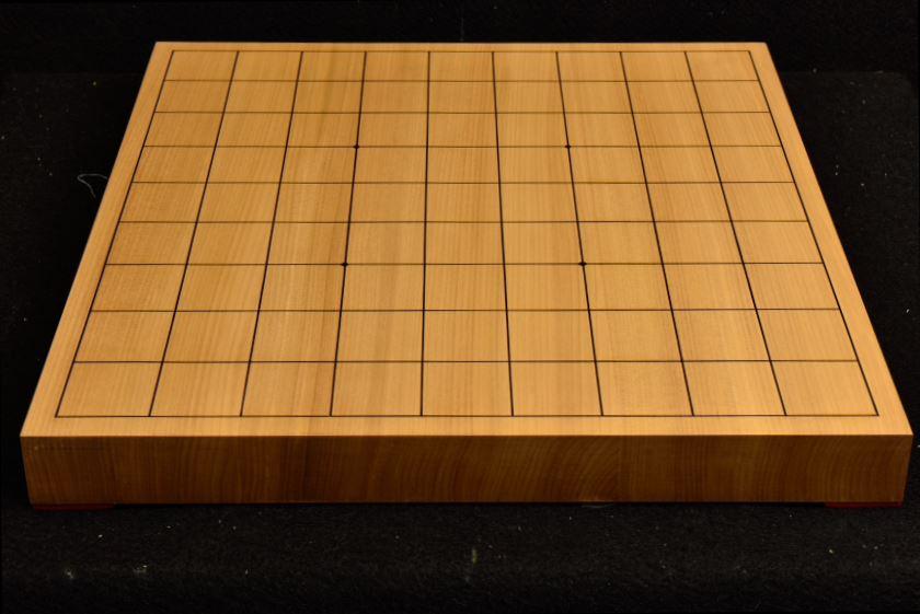 将棋盤 本桂10号柾目接合