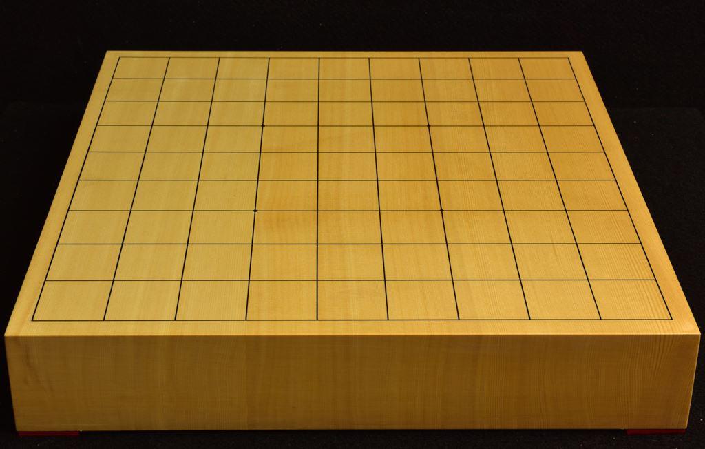 将棋盤 ヒバ20号卓上 松印