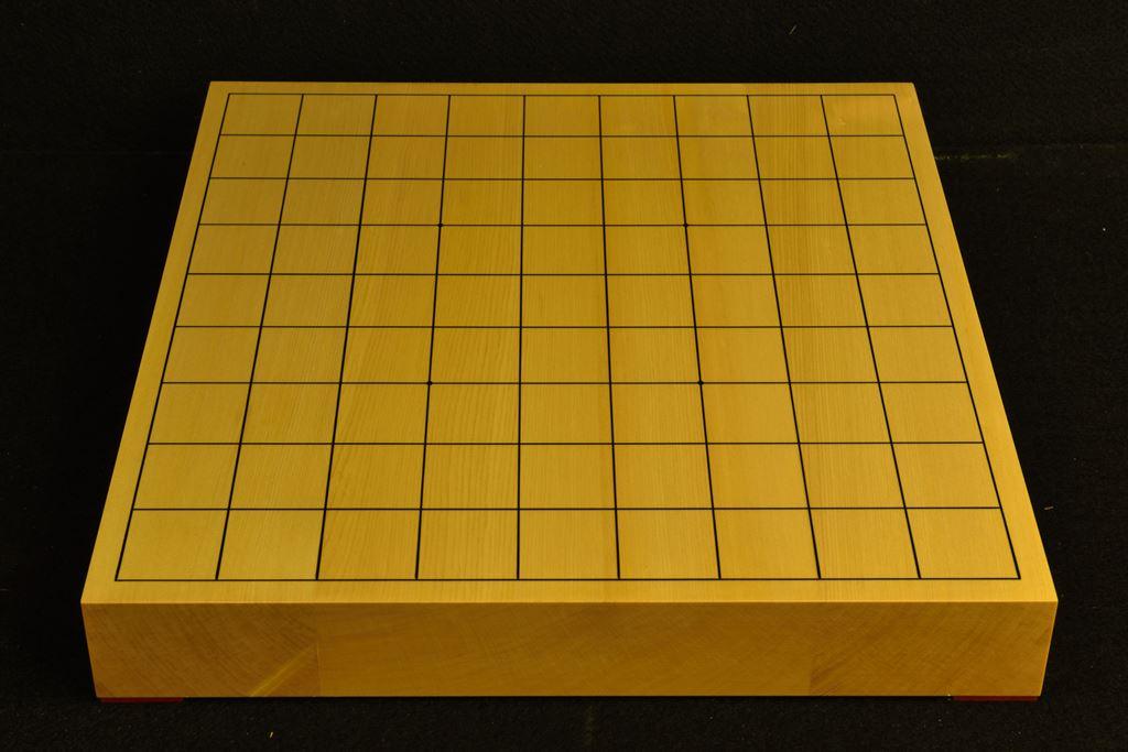 将棋盤 ヒバ15号卓上 松印