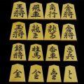 将棋駒 竹風作 特上彫 昇竜