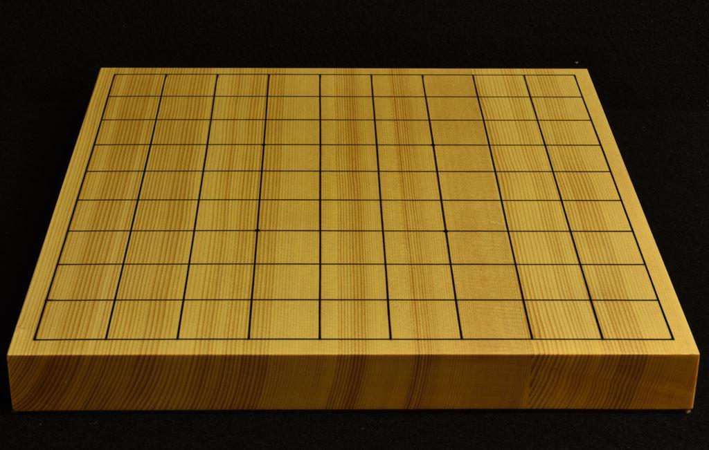将棋盤 新かや10号 本漆太刀目盛 特選