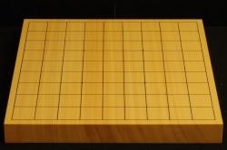 将棋盤 新かや10号一枚板 本漆太刀目盛 松印