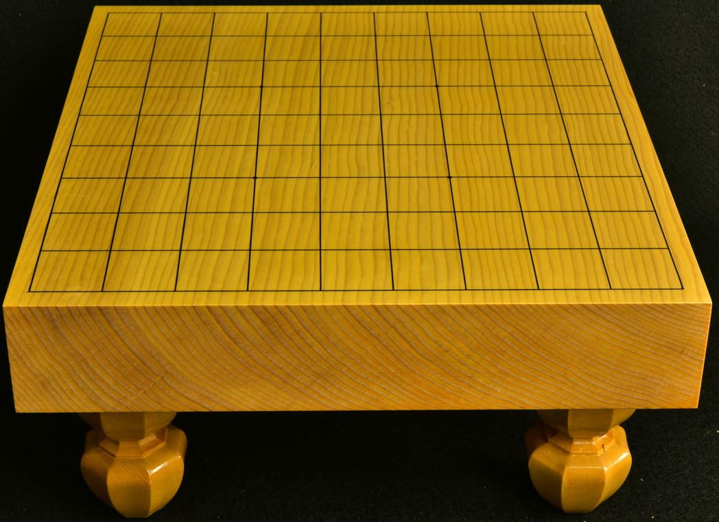 将棋盤 新かや20号柾目一枚板 竹印