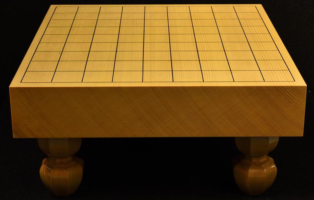 将棋盤 新かや20号柾目一枚板 松印