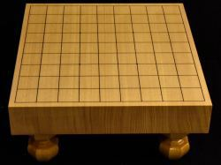 将棋盤 新かや20号柾目一枚板 特上