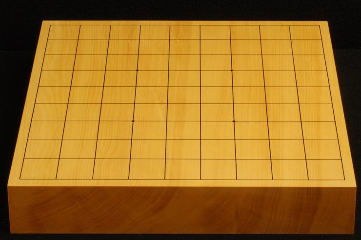 本榧卓上将棋盤 t5271