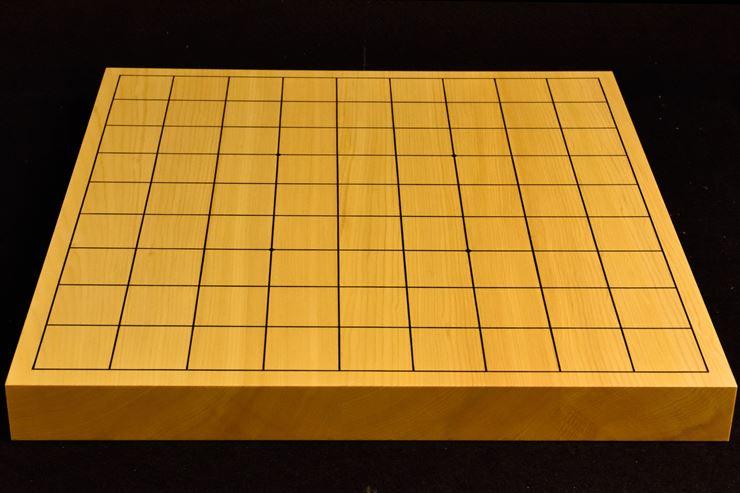 本榧卓上将棋盤 t5364