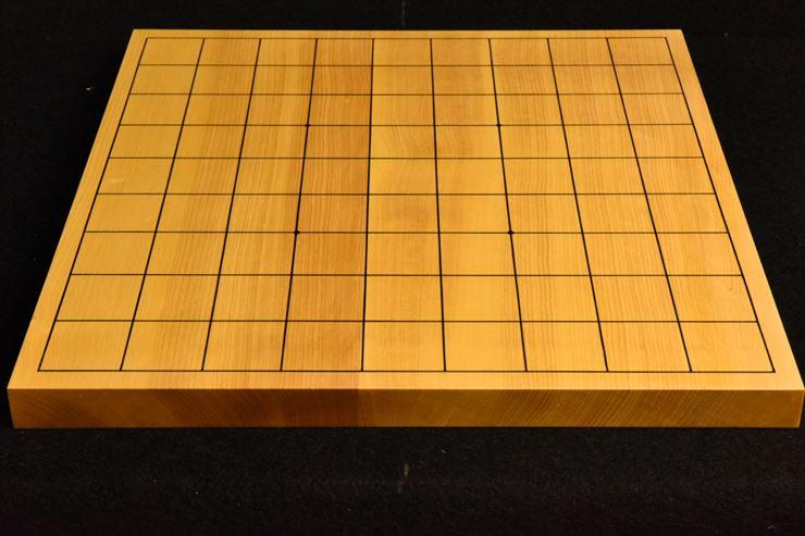 本榧卓上将棋盤 t5365