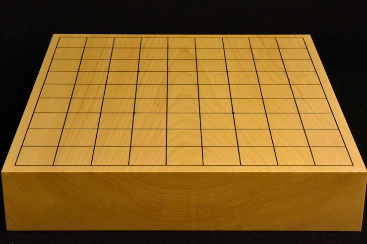 本榧卓上将棋盤 t5367
