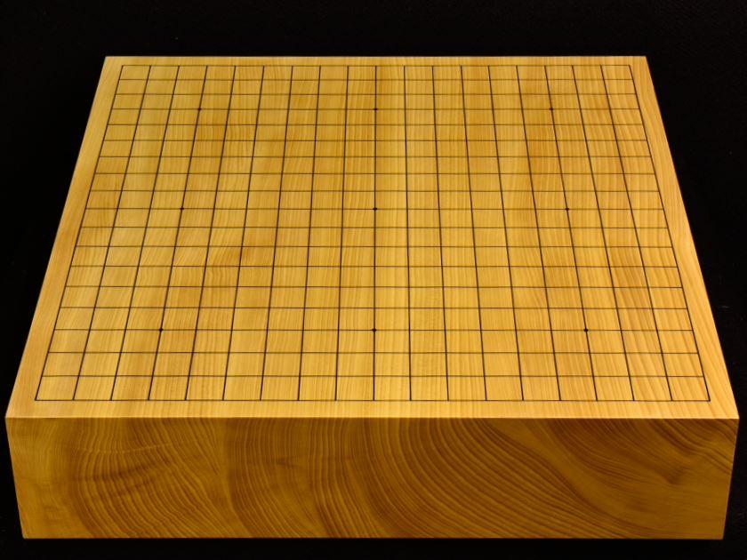 碁盤 本榧卓上 t5388