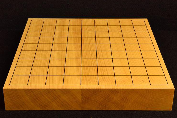 本榧卓上将棋盤 t5368