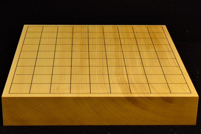 本榧卓上将棋盤 t5803