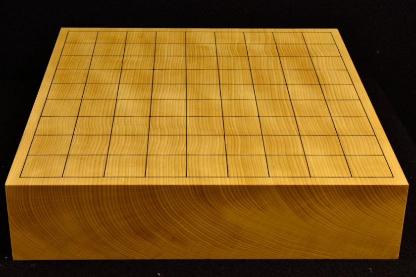 本榧卓上将棋盤 t5804