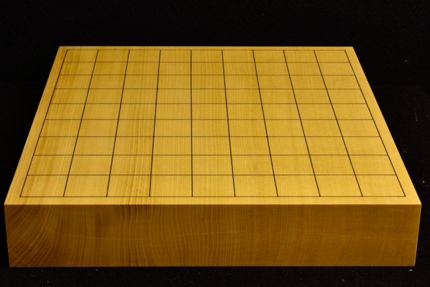 本榧卓上将棋盤 t5805