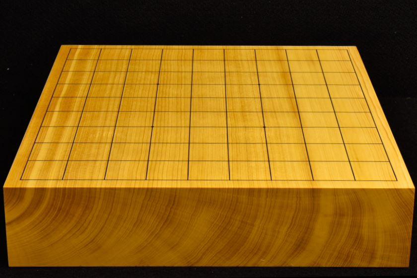 本榧卓上将棋盤 t5851
