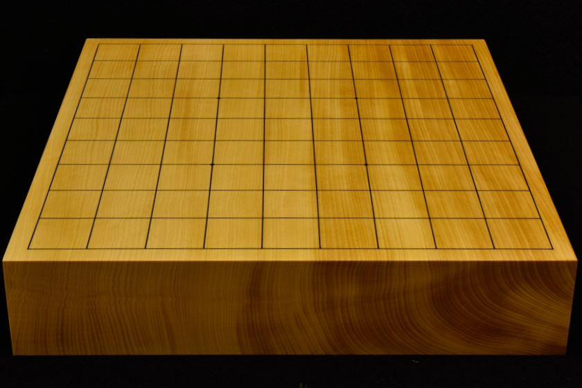 本榧卓上将棋盤 t5858