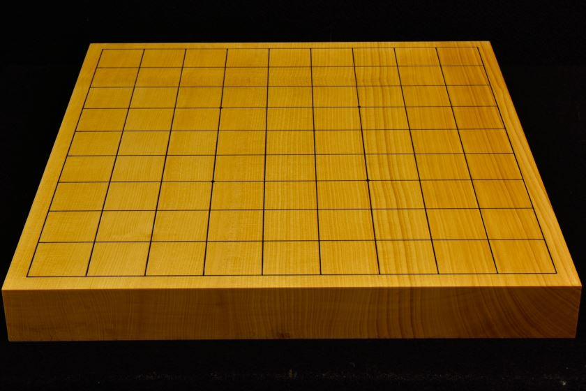 本榧卓上将棋盤 t5859