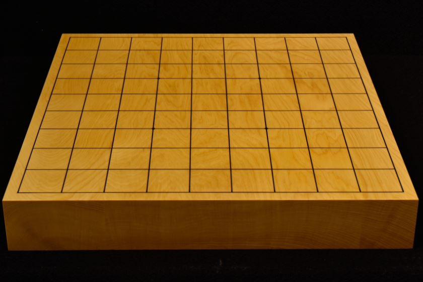 本榧卓上将棋盤 t5861