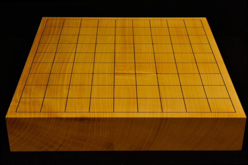 本榧卓上将棋盤 t5862