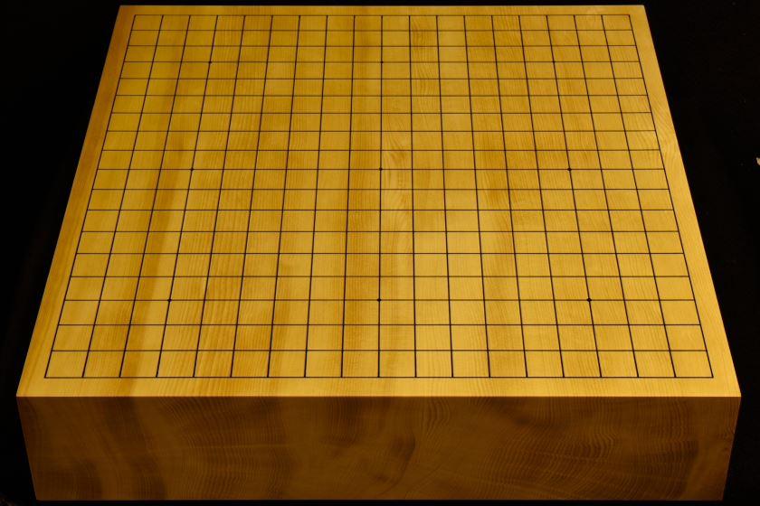 碁盤 本榧卓上 t5902