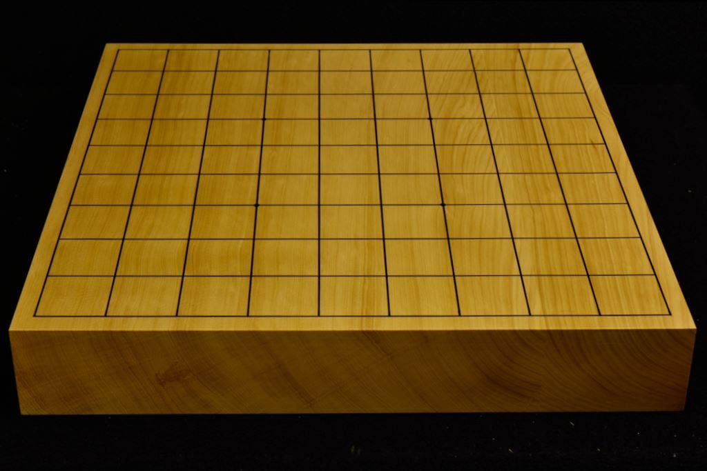 本榧卓上将棋盤 t6020