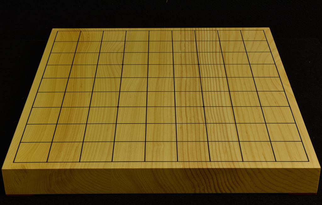 本榧卓上将棋盤 t6138