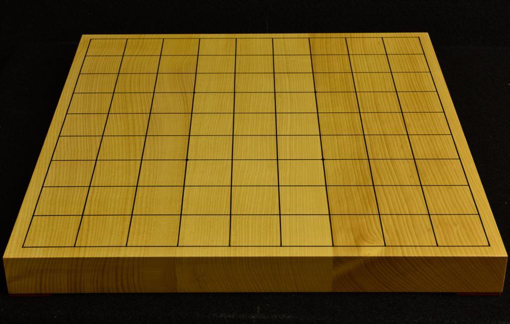 本榧卓上将棋盤 t6139