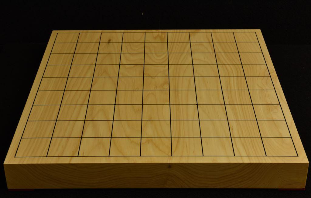 本榧卓上将棋盤 t6141
