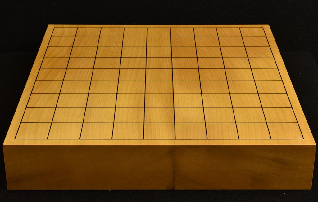 銀杏卓上将棋盤 t6143