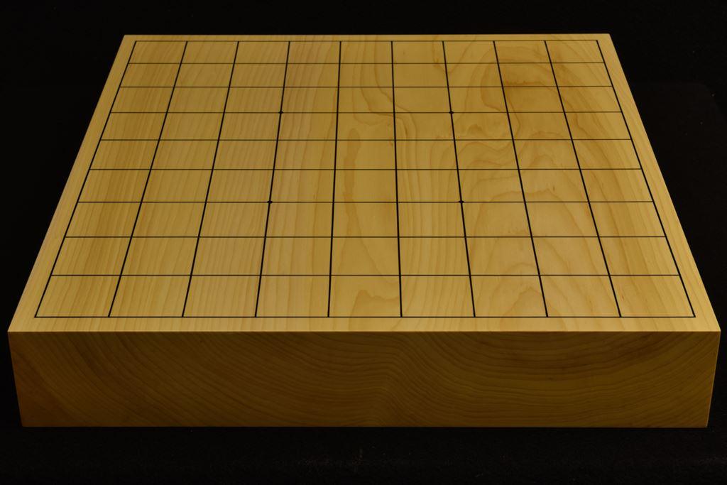 本榧卓上将棋盤 t6150