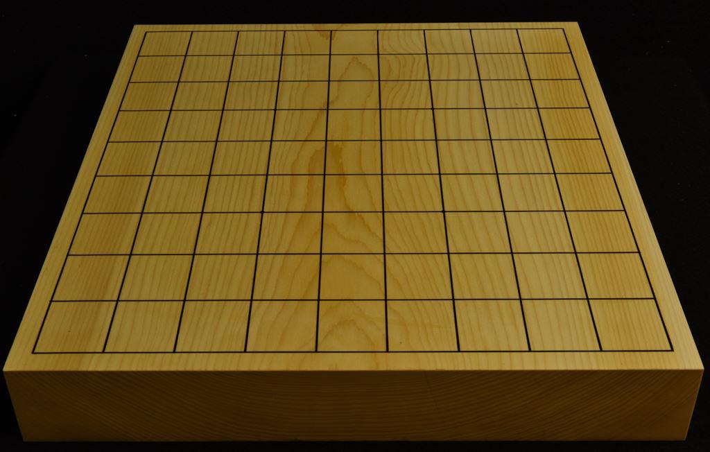 本榧卓上将棋盤 t6185