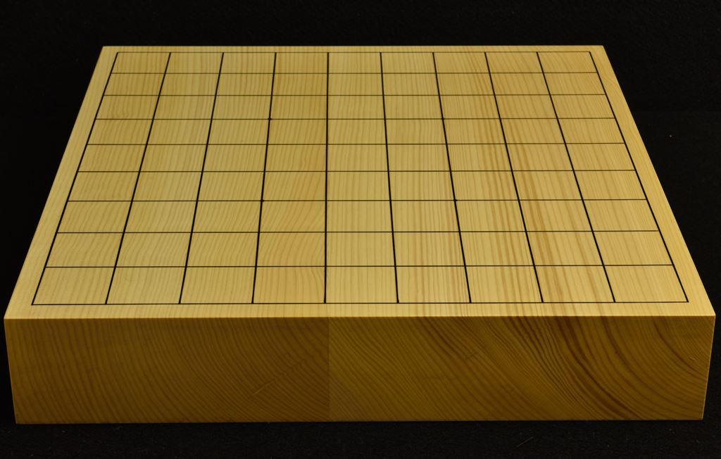 本榧卓上将棋盤 t6203