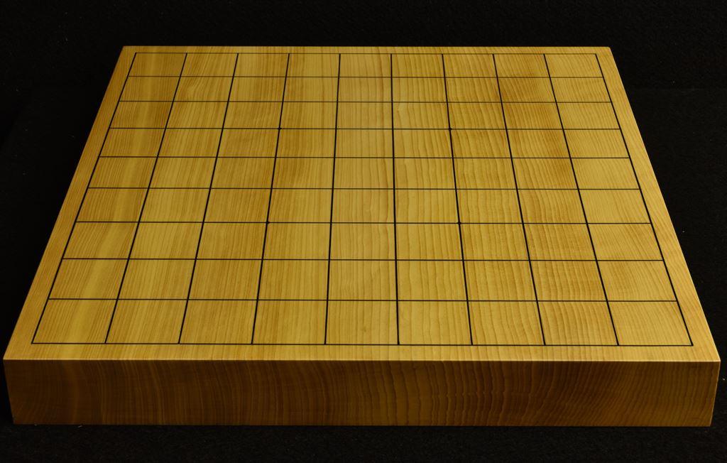 本榧卓上将棋盤 t6204