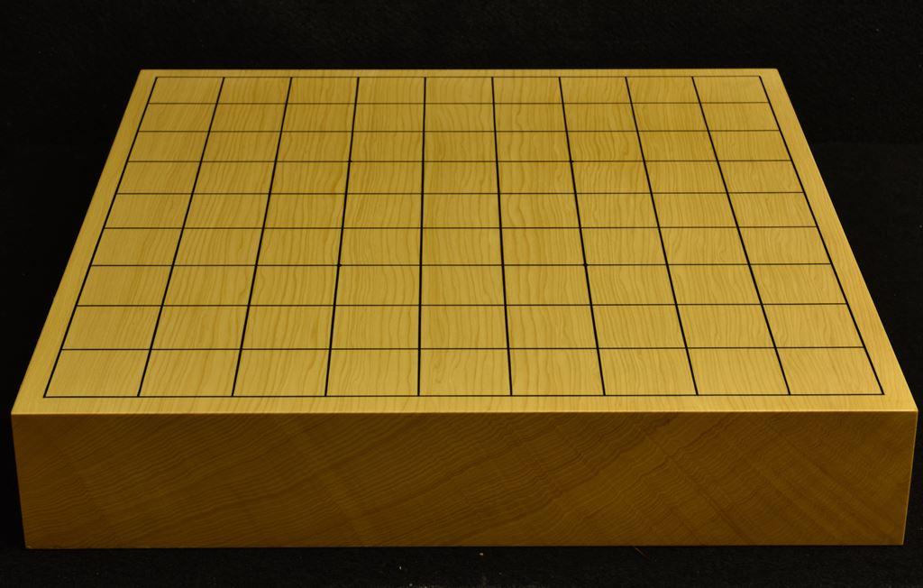 本榧卓上将棋盤 t6207