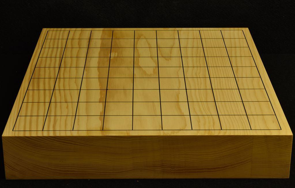 本榧卓上将棋盤 t6208
