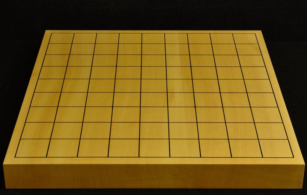 本榧卓上将棋盤 t6217