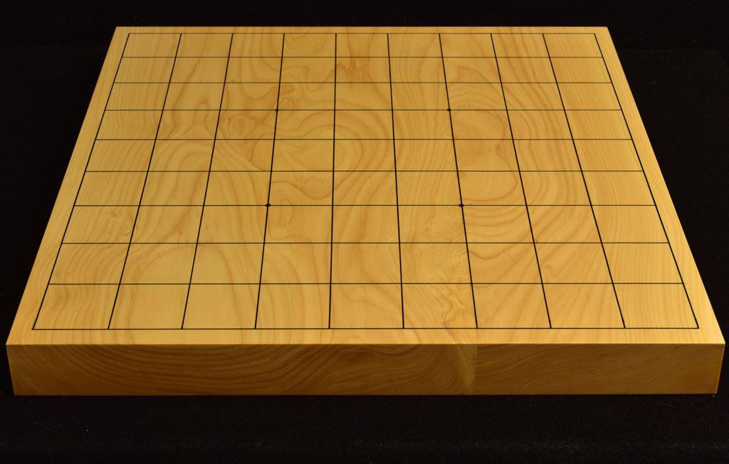 本榧卓上将棋盤 t6224