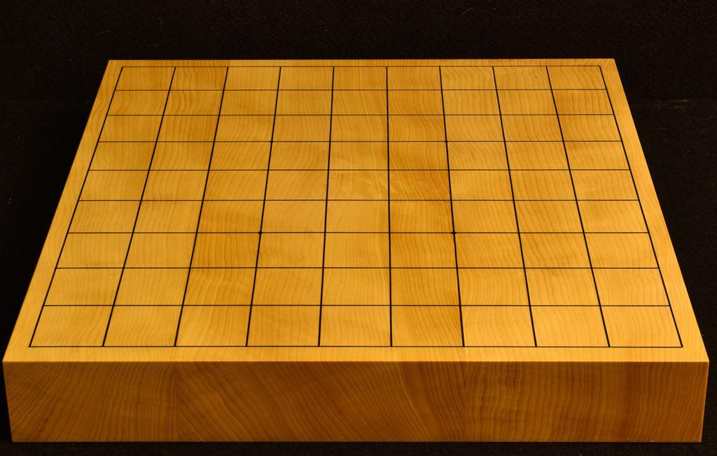 本榧卓上将棋盤 t6225