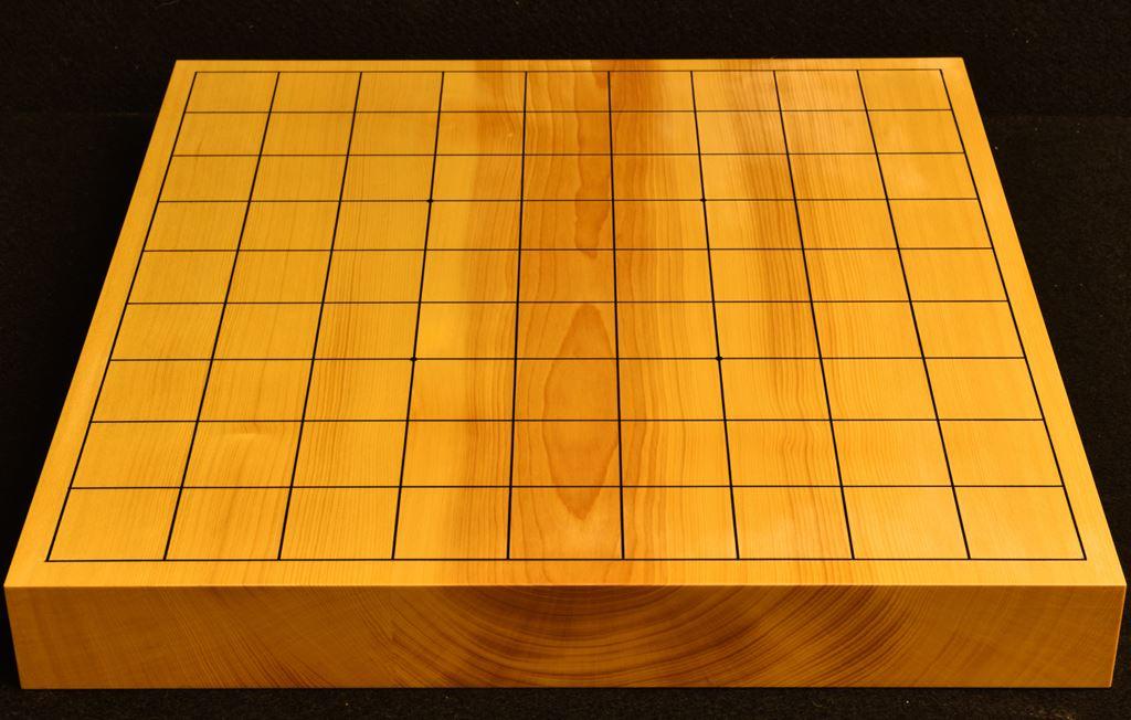 本榧卓上将棋盤 t6226